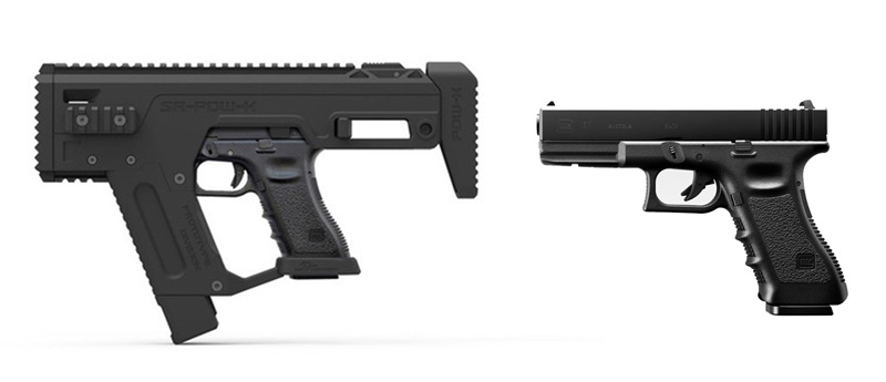 SRU Glock PDW Advanced キット BK+ G17 本体セット