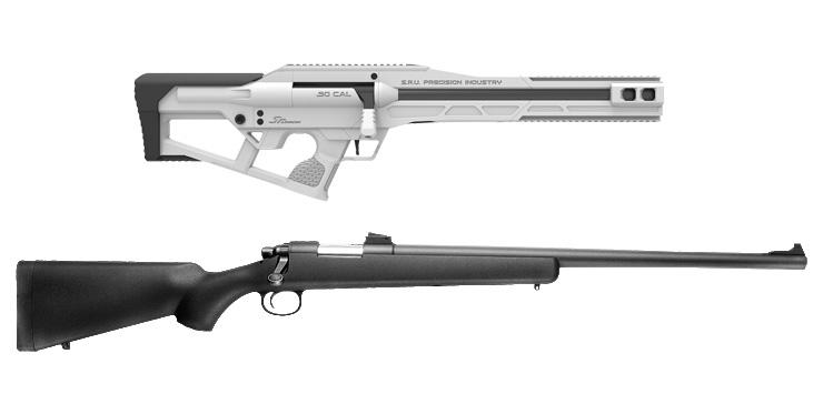 SRU VSR10 SNP Advanced キット Snow White+プロスナイパー BK 本体セット