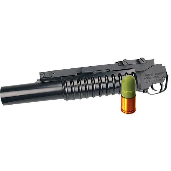 ICS M203グレネードランチャー(40mmカート1本付属.)