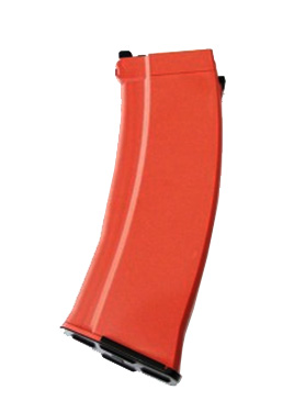 【ポイント10倍!12月24日8時59分まで】GHK AK用 74スタイルガスマガジン 30連 オレンジ