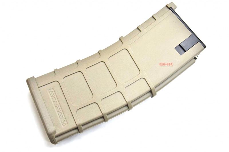 【ポイント10倍!12月24日8時59分まで】GHK M4/G5用 G-MAG 40連ガスマガジン Ver.2 TAN