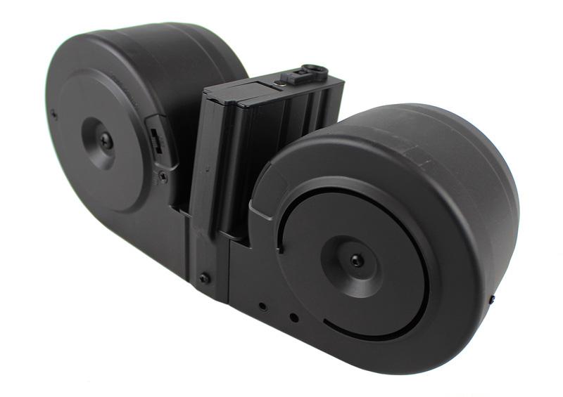 【ポイント10倍!6月11日8時59分まで】A&K SR25 Beta C-MAGタイプ 3000連音感電動ドラムマガジン