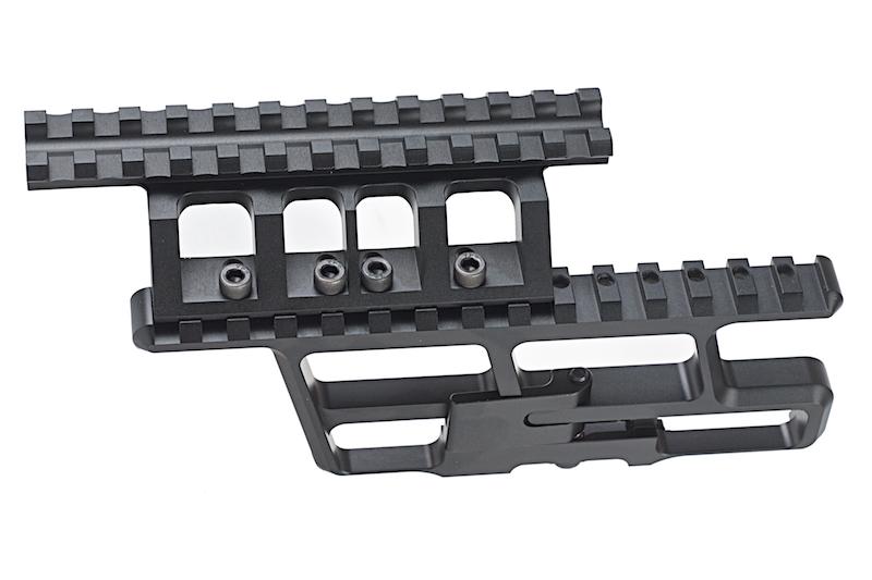【パーツ類ポイント10倍!23日8時59分まで】Asura Dynamics RS REGULATEタイプ AK-300 307ロアーレールベース+AKR 20mmレール