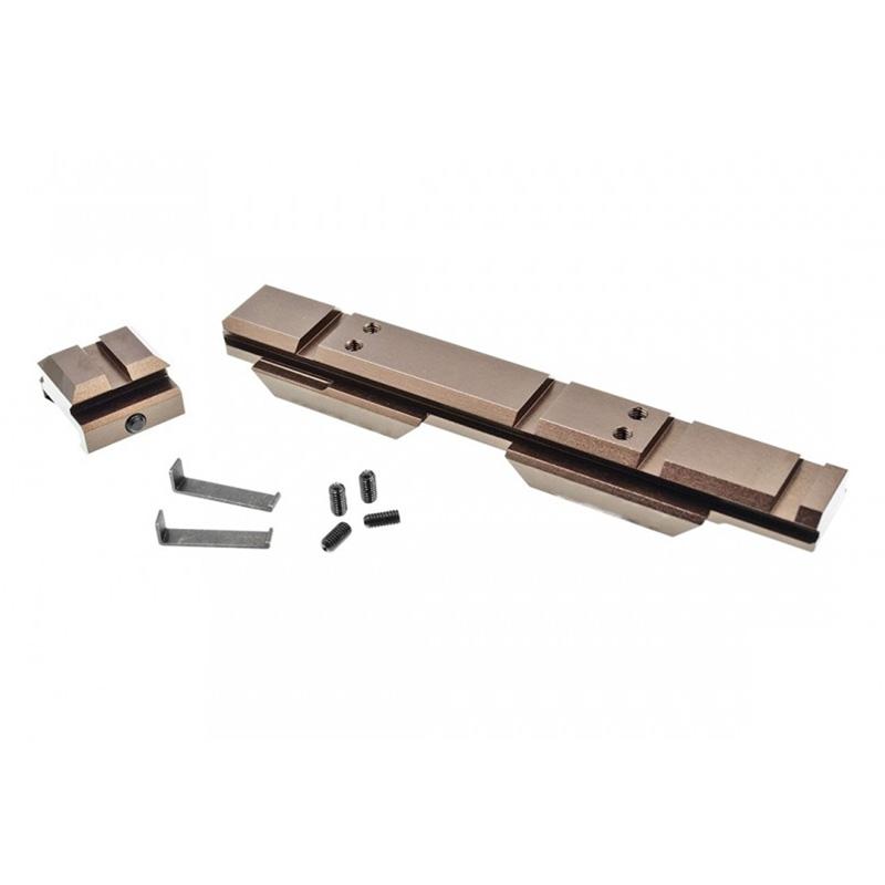 【ポイント10倍!12月24日8時59分まで】C&C Tac Wilcoxタイプ EOTech XPS Riser マウントシステム Ver.3 (0.410inch) Glossy Copper Brown