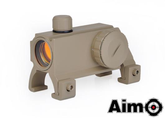【ポイント10倍!12月24日8時59分まで】ELEMENT(Aim-O) Waltherタイプ MP5/G3ドットサイト DE