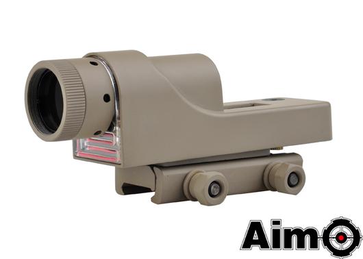 ELEMENT(Aim-O) Trijicon RX06タイプ 1×24リフレックスサイト トライアングルレッドレティクル DE