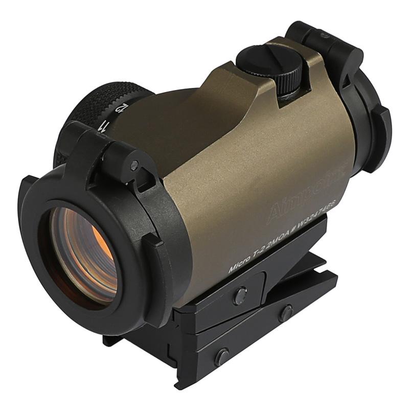あらゆる機種に対応するオールマイティードットサイト ACE1 ARMS Aimpoint Micro T-2タイプドットサイト KAC slide FDE 引出物 Cover 高品質 Elevated Ver. mount