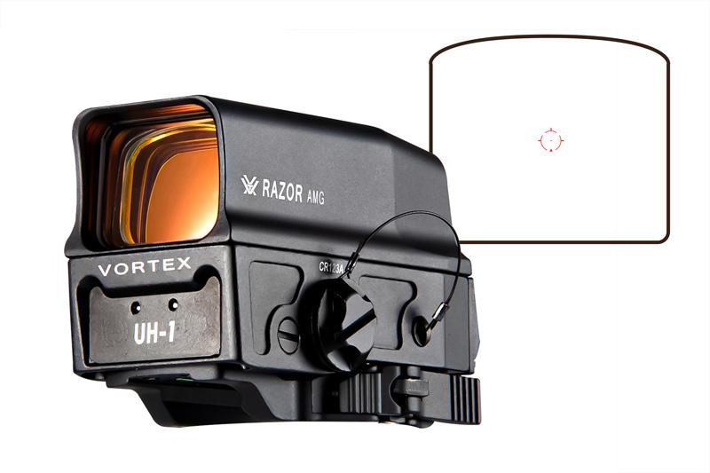 【ポイント10倍!5月16日8時59分まで】Vortex Optics Razor AMG UH-1タイプ リフレックスドットサイト Black
