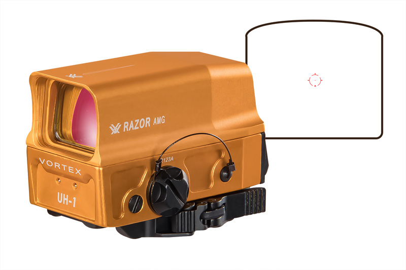 Vortex Optics Razor AMG UH-1タイプ リフレックスドットサイト Orange