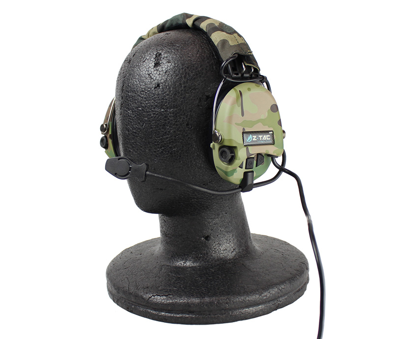 Z-Tactical ZSordin Headset(Official Version)無線ヘッドセット MC