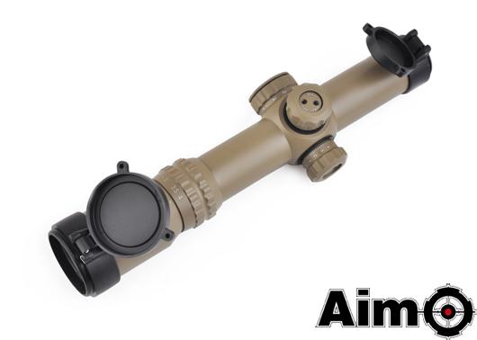 ELEMENT(Aim-O) タクティカルスコープ 1-4×24SE RED/GREENレティクル DE