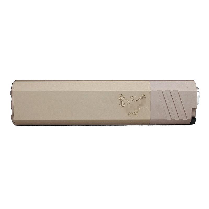 【ポイント10倍!6月11日8時59分まで】ACE1 ARMS Ospreyスタイル レンジアップサプレッサー 7inch FDE 14mm正ネジ