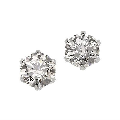 プラチナダイヤ0.20カラットピアスが激安 贈答品 プラチナダイヤピアス合計0.20カラット上質ダイヤの煌き一粒ダイヤモンド 送料無料 授与 4月誕生石ダイヤ 通販 特価 レディース 激安