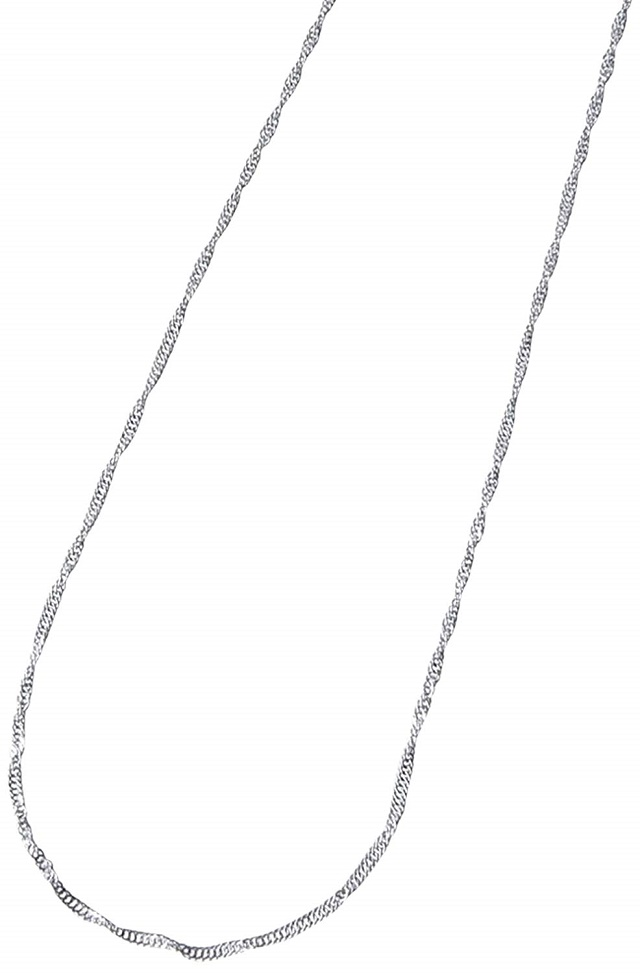 PTネックレスが格安 しなやか純プラチナネックレス 普段使いにも最適なサイズです 純プラチナネックレスチェーンスクリュー45cmPt999 送料無料 数量限定アウトレット最安価格 レディース 特価 通販 100%品質保証 激安