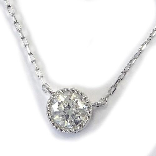 PT900ダイヤモンドネックレス0.30カラット良質ダイヤモンド【ギフトラッピング済み】 【送料無料】【4月誕生石ダイヤ】【レディース,激安,特価,通販】