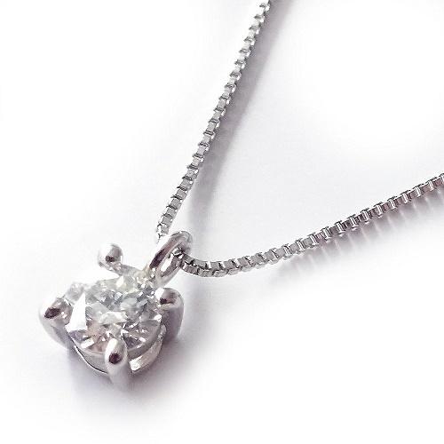 プラチナ900良質天然ダイヤモンド0.1カラットプチネックレスペンダント【ギフトラッピング済み】【送料無料】【4月誕生石ダイヤ】【レディース,激安,特価,通販】