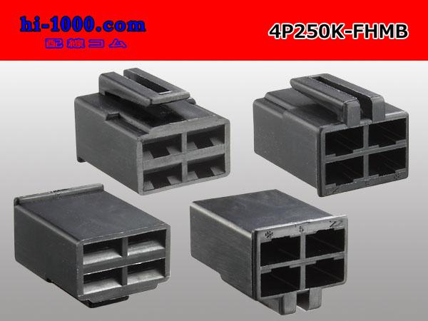 250형 4 P메스 단자측 커플러 F250/4 P250K-FHMB
