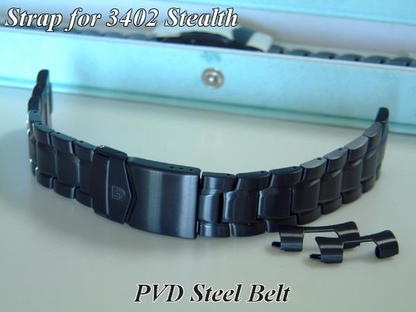 Luminox Luminox3402 PVD replacement belts (-late response type ) steel-05
