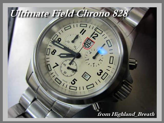 W-coat! Luminox Luminox Ultimate Field Chrono #828