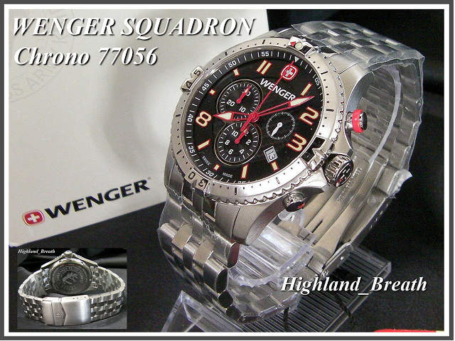Wenger watch WENGER SQUADRON Chrono Squadron Chrono 77056