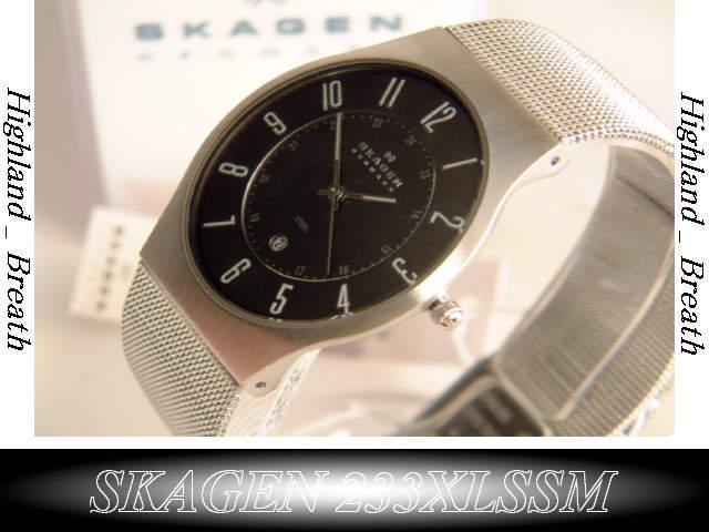 Scar gene watch SKAGEN watch 233XLSSM