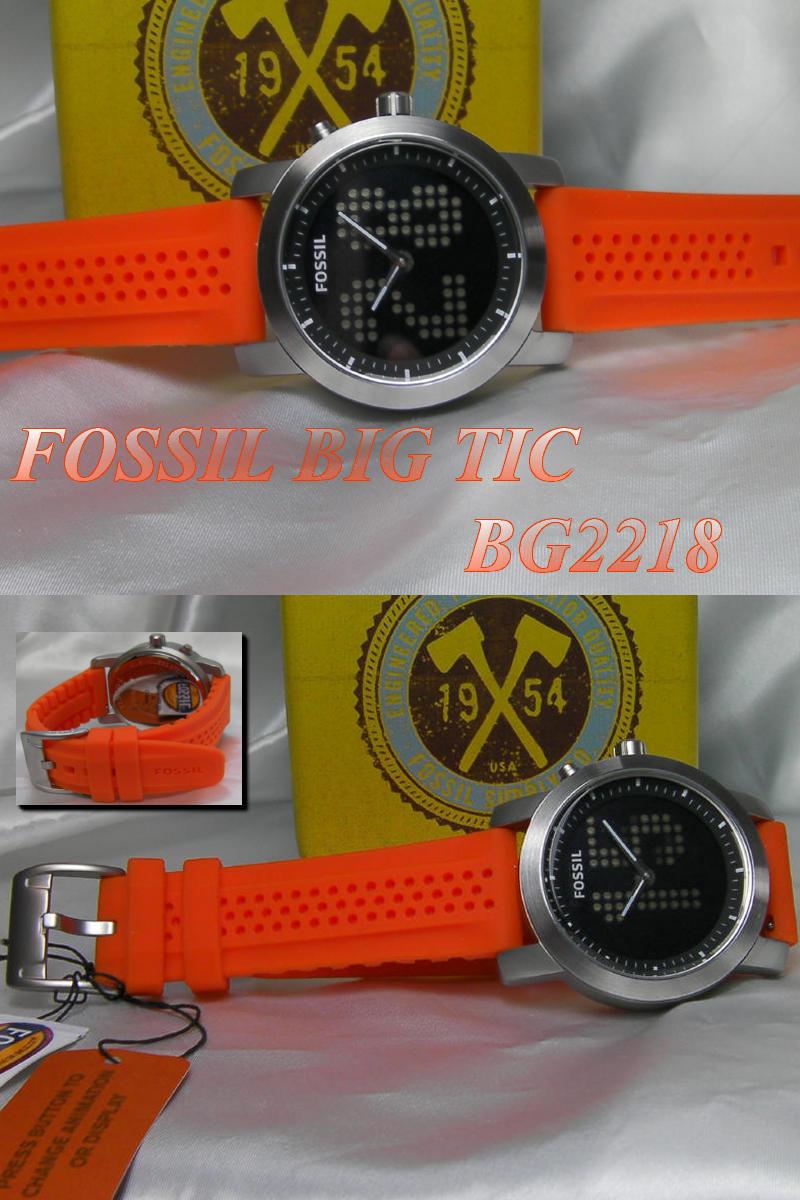 FOSSIL フォッシル BIG TIC 남녀 겸 시계 BG2218