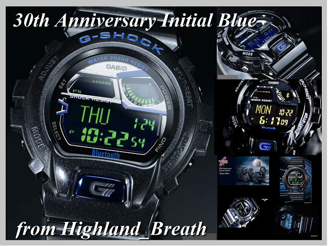 ★ Model GB-6900AA-A1ER of the 30th anniversary of G-SHOCK men G-SHOCK