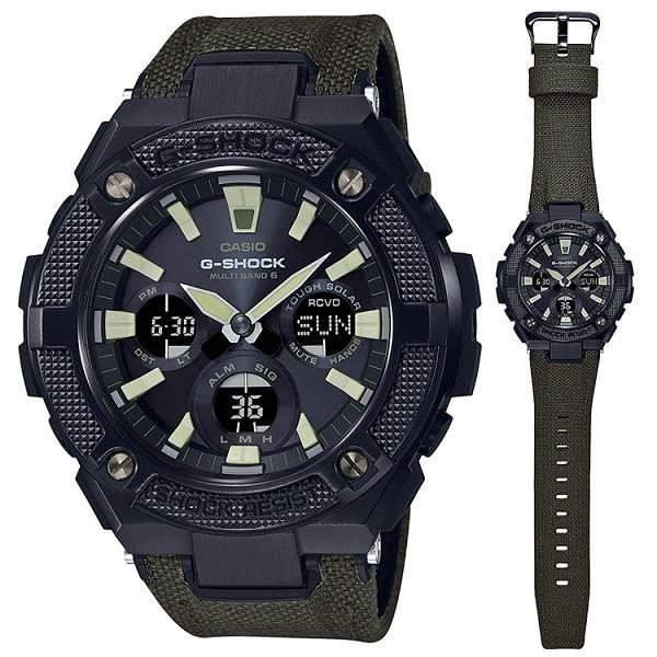 Gスチール★≪即日発送≫★CASIO 腕時計 カシオ腕時計 gショック 腕時計 G-SHOCK 腕時計 (ジーショック 腕時計 ) GST-W130BC-1A3 ソーラー電波