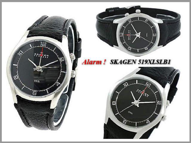 It is with SKAGEN 519XLSLB1/ alarm!