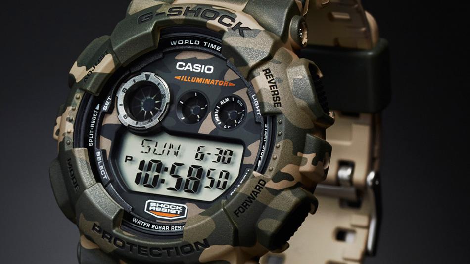 ≪即日発送≫★CASIO 腕時計 カシオ 腕時計 カシオgショック 腕時計 G-SHOCK 腕時計(ジーショック 腕時計) GD-120CM-5 カモフラージュ