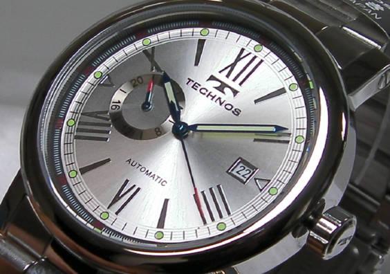≪即日発送≫★TECHNOS 腕時計(テクノス 腕時計)自動巻き腕時計)T1078SS 男性用