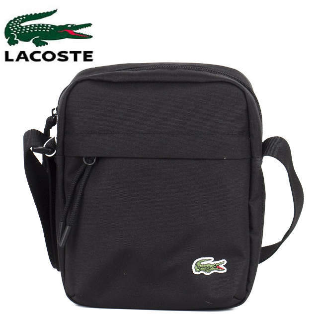b85dadae ・Black for LACOSTE Lacoste camera accessory shoulder bag man, the woman