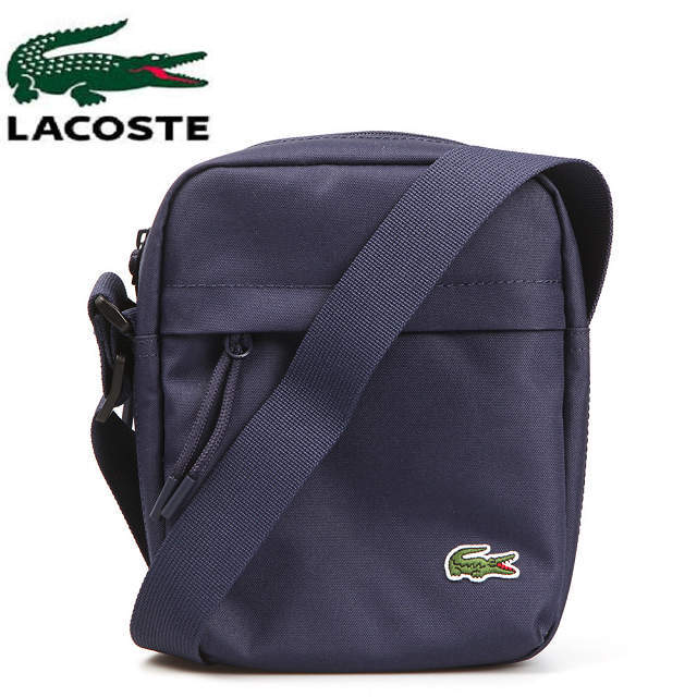 3c79f3dc ・Navy for LACOSTE Lacoste camera accessory shoulder bag man, the woman