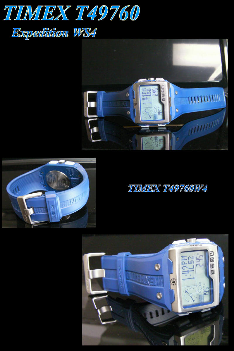 -TIMEX Timex expedition WS4 T49760