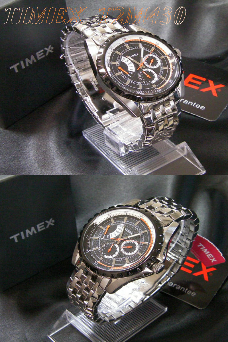 ★ Timex TIMEX retrograde metal bress T2M430