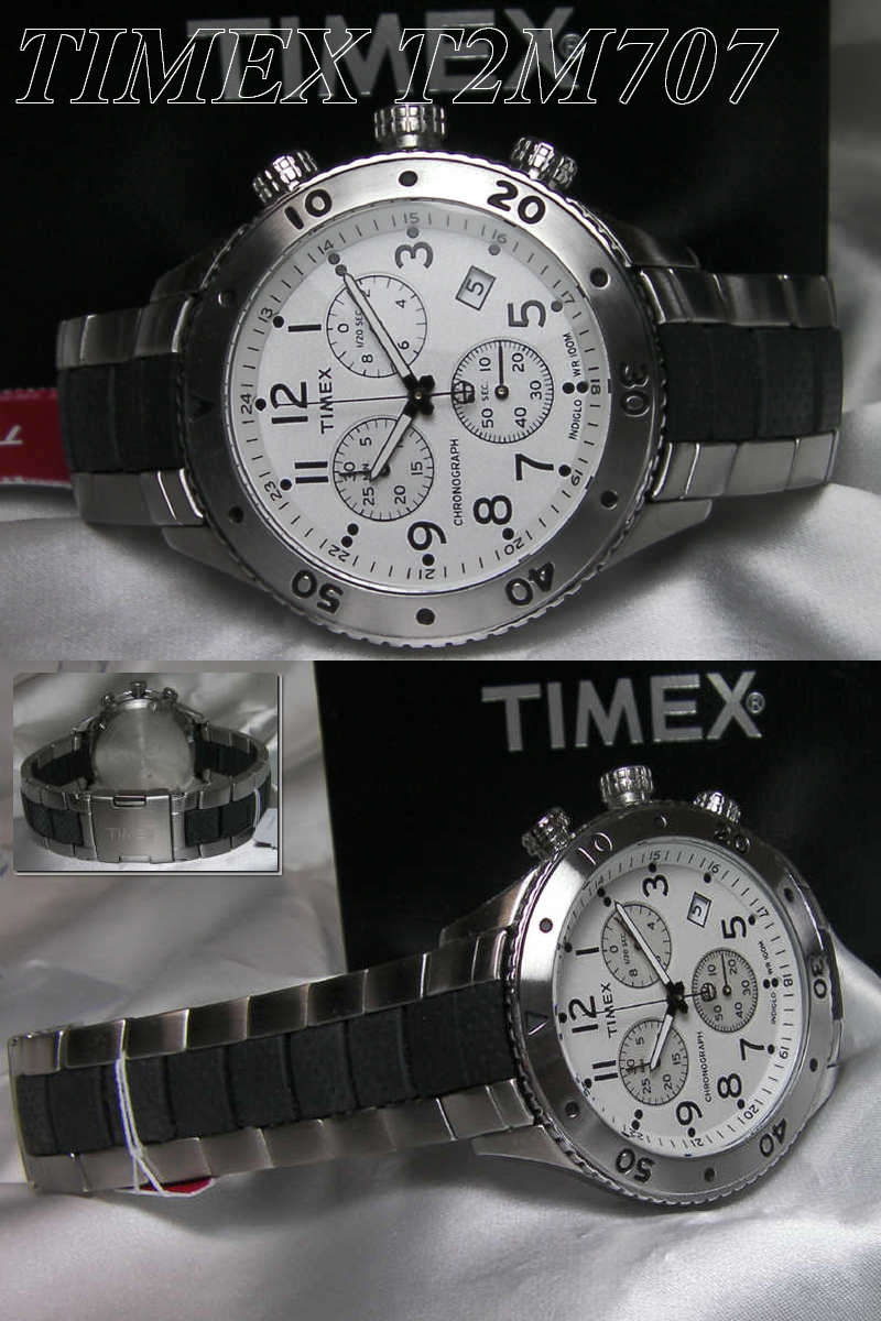Timex Watch T series TIMEX city sports T2M707 «chronograph»