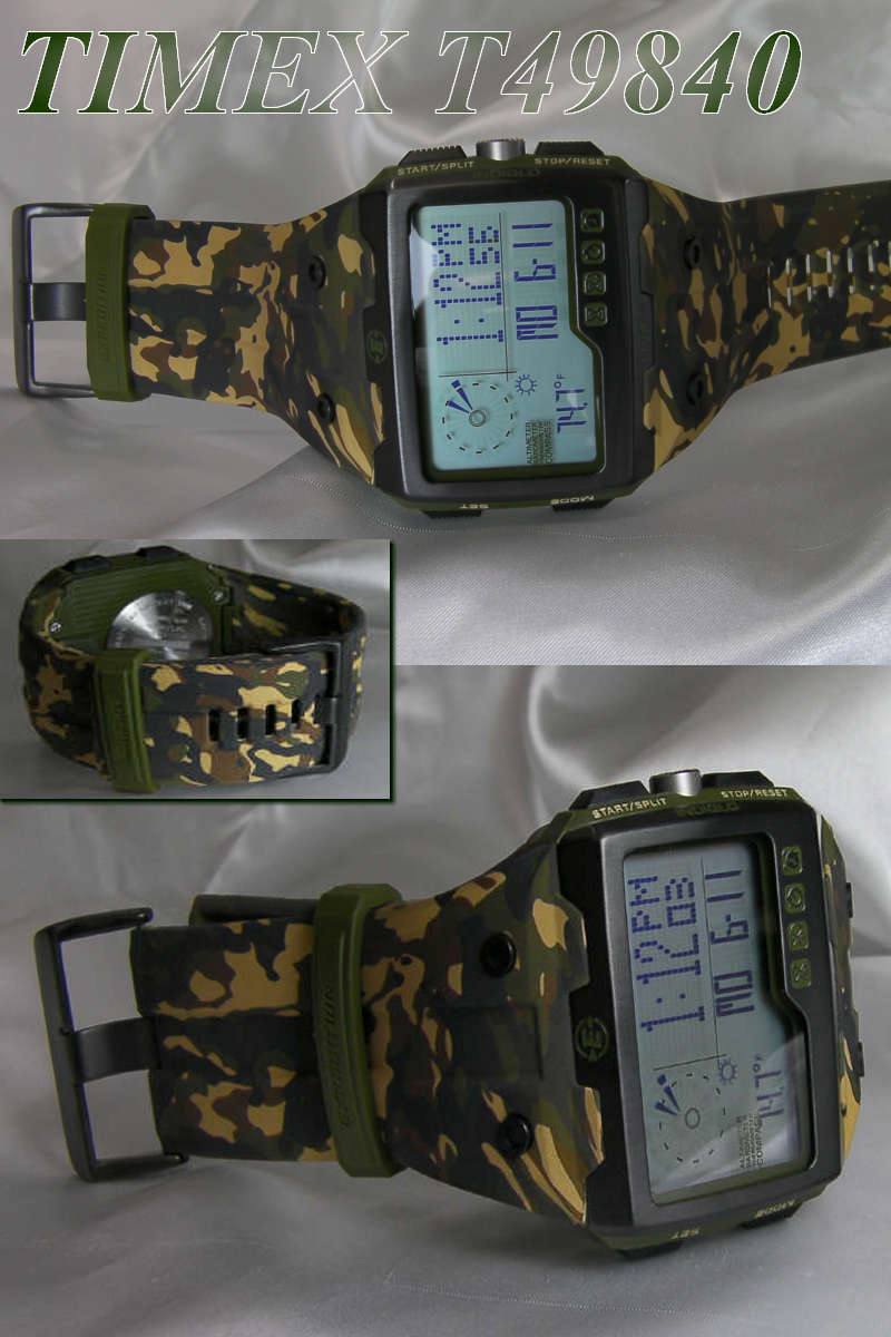 TIMEX Timex expedition WS4 T49840-camouflage