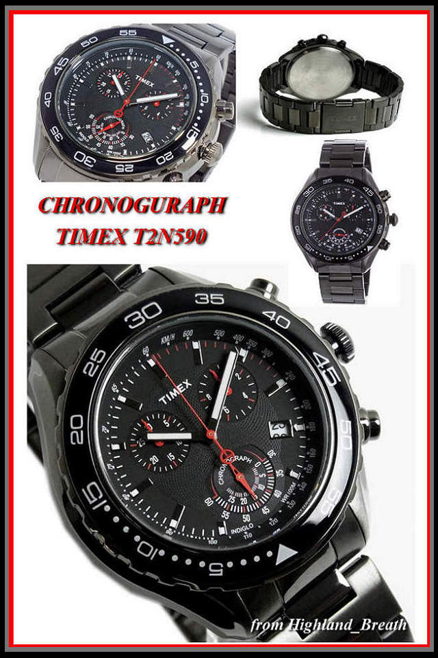 Timex Watch T series TIMEX シティフォーマル. T2N590 «chronograph»