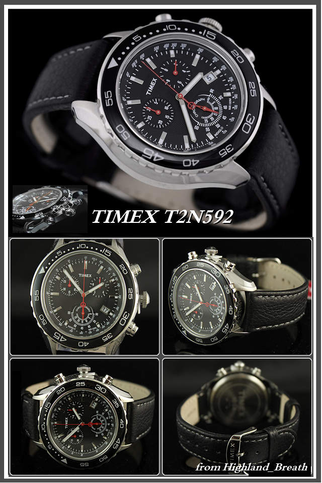 Timex Watch T series TIMEX シティフォーマル. T2N592 «chronograph»