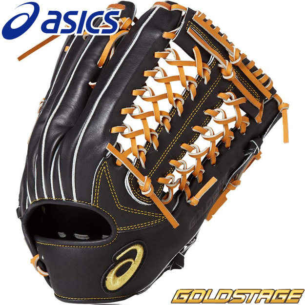 [型つけ無料]アシックス 軟式用 グラブ 外野手用 ゴールドステージ ロイヤルロード 3121A208 軟式グローブ 野球 右投げ用