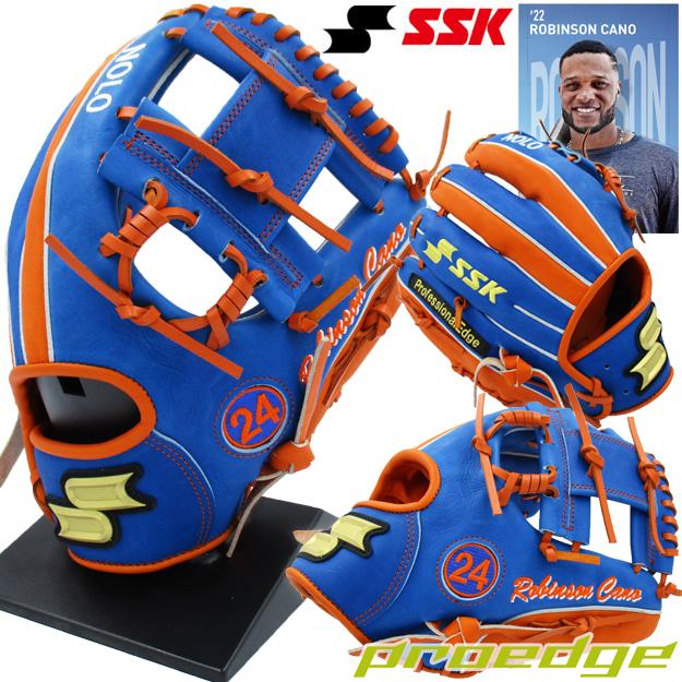 【MLBスペシャル限定モデル!ロビンソン・カノ】SSK プロエッジ 軟式用 内野手用グラブ PEN-RC24 メジャー グローブ 野球
