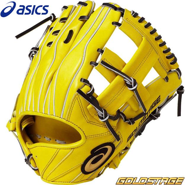 [型つけ無料]アシックス 硬式用 グラブ 内野手用 ゴールドステージ スピードアクセル 3121A184 硬式グローブ 野球 右投げ用
