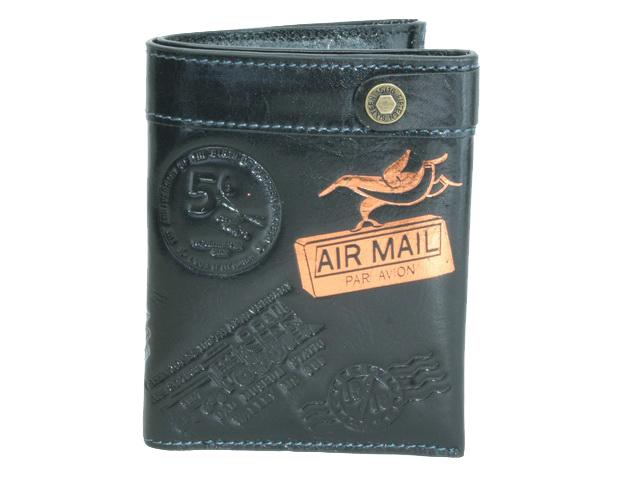 ついに入荷 WA-9202 ついに再販開始 FIFTEEN ウォレット SIXTEENブラック2つ折り財布
