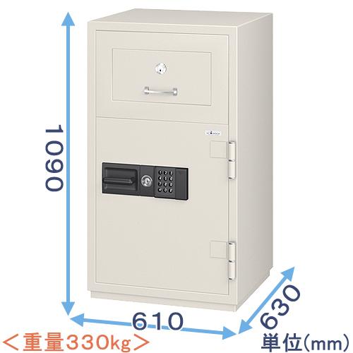 投入式強化型耐火金庫(PSG-100ER)<履歴テンキー式>