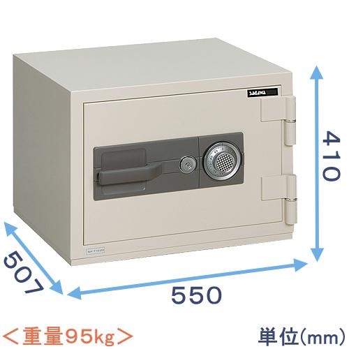 ダイヤル式強化型耐火金庫 (PC41) 日本製 サガワ