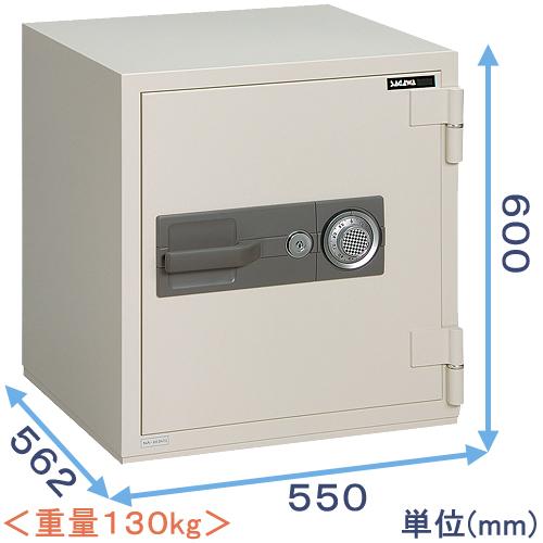 ダイヤル式強化型耐火金庫 (PC60) 日本製 サガワ