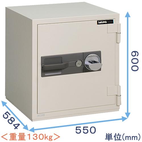 指静脈認証式強化型耐火金庫 (PC60V) 日本製 サガワ