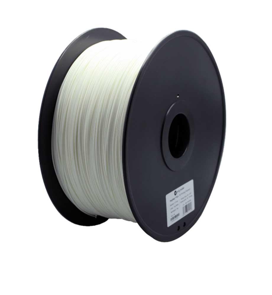 Polymaker(ポリメーカー) 3Dプリンター用 PLAフィラメント (白色)PolyMax PLA True white 3Kg 直径1.75mm