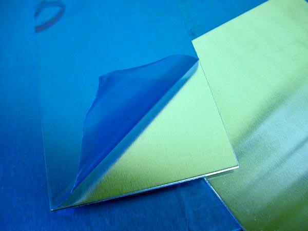 알루미늄 1.5 mm얇은 판자 125 mm×250 mm A5052 치수 절단가능