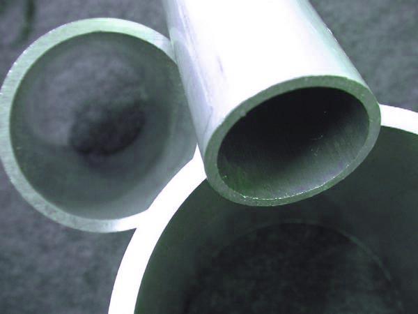 アルミ丸パイプ A6063 外径150mm 厚さ5mm 長さ500mm